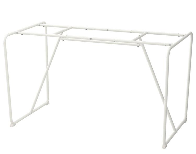 Struttura per tavolo in cristallo Ikea n.05