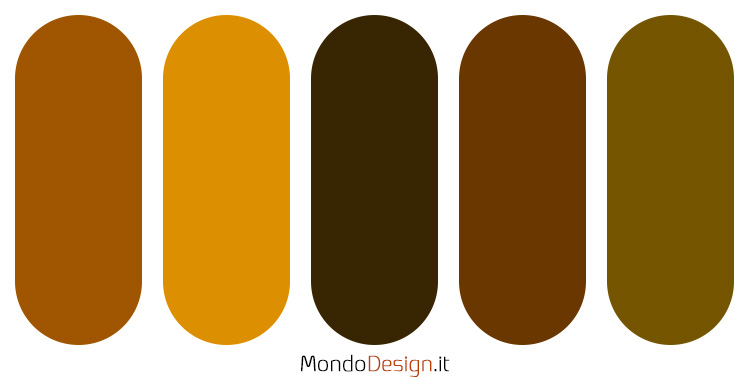 Palette colore ambra n.01