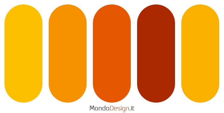 Palette colore ambra n.02