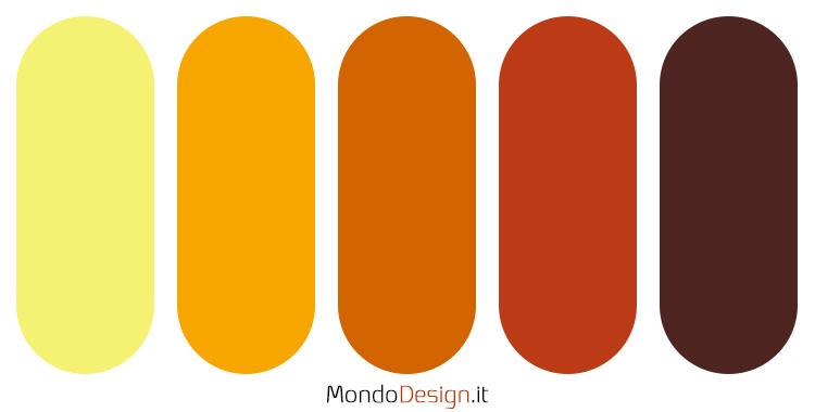 Palette colore ambra n.04