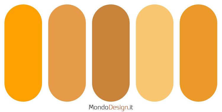 Palette colore ambra n.05