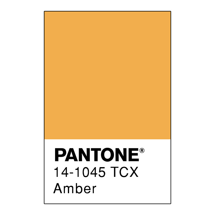 Identificazione del colore ambra per Pantone