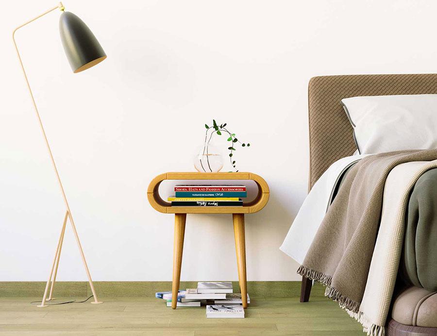 Modello di comodino vintage di Oak Design Studio n.02