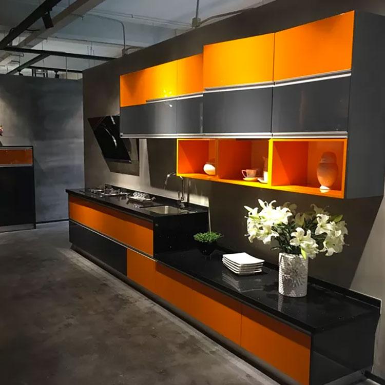 Idee per utilizzare il colore ambra in cucina n.02