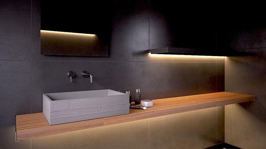 Modello di lavabo da appoggio rettangolare di URBI et ORBI n.04