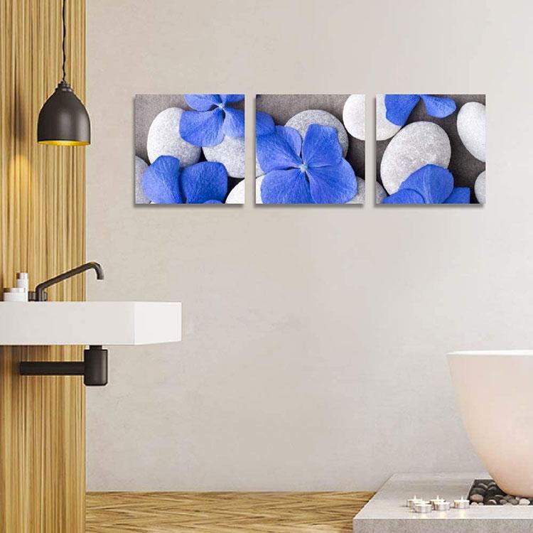 Modello di quadro per bagno moderno n.02