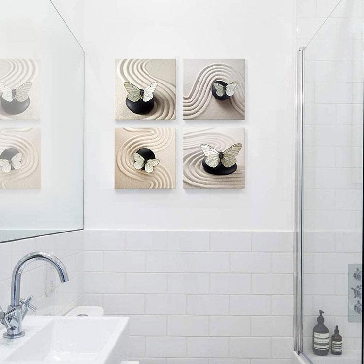 Modello di quadro per bagno moderno n.05
