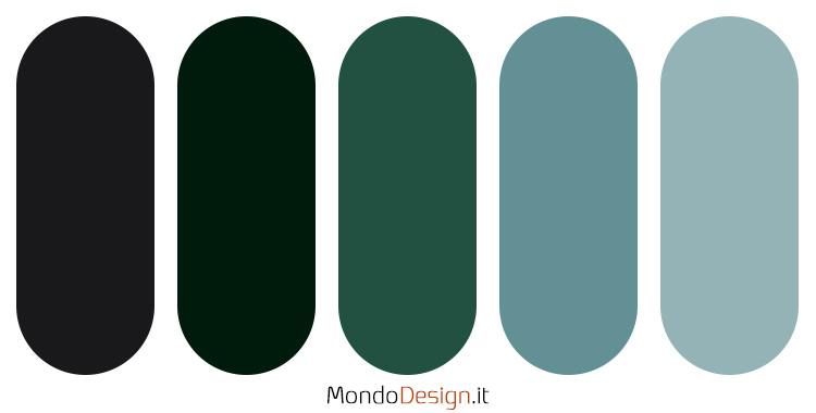 Palette colore antracite n.02
