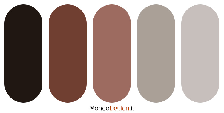 Palette colore antracite n.03