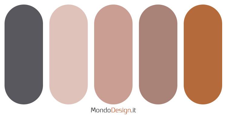 Palette colore antracite n.04
