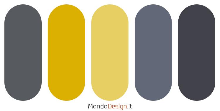 Palette colore antracite n.05
