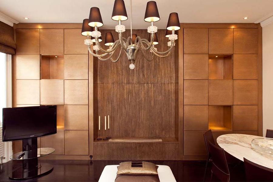 Colore bronzo per interni