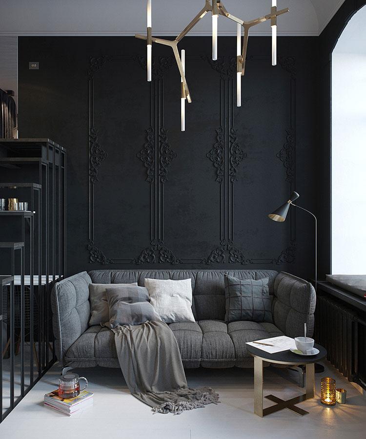 Colore nero per interni
