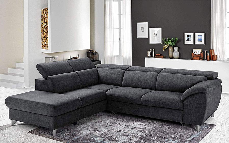Idee per il divano colore antracite