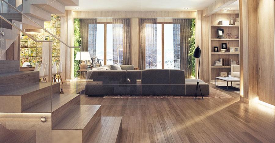 Materiale legno per interni