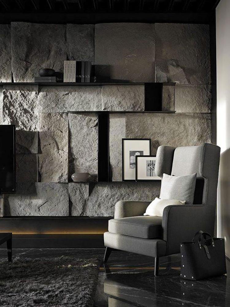 Materiale pietra per interni