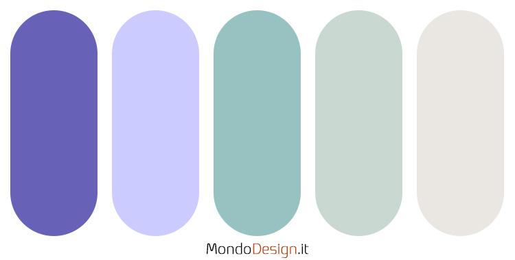 Palette colore pervinca n.01