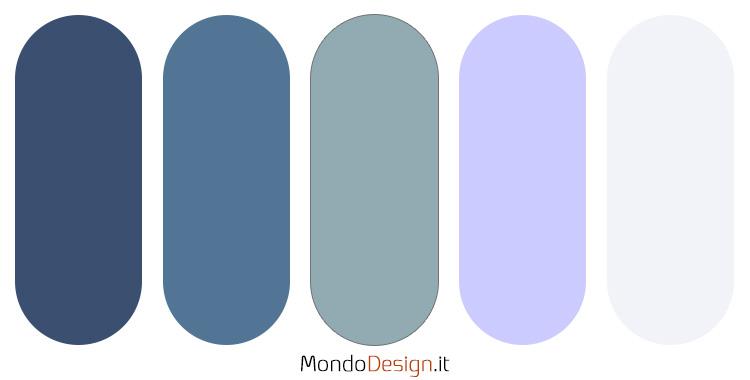 Palette colore pervinca n.03