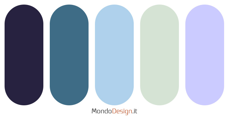 Palette colore pervinca n.04