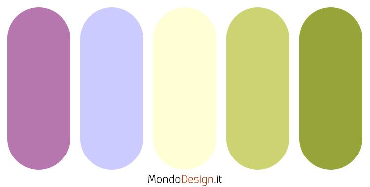 Palette colore pervinca n.05