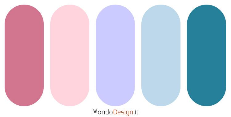 Palette colore pervinca n.06