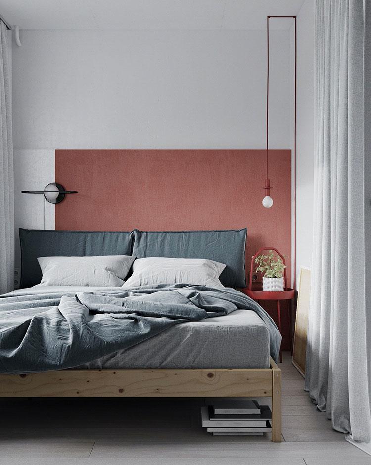 Idee per arredare una camera da letto di 9 mq n.02