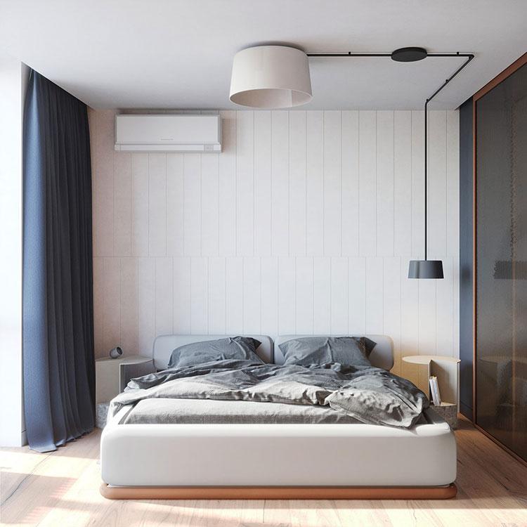 Idee per arredare una camera da letto di 9 mq n.04