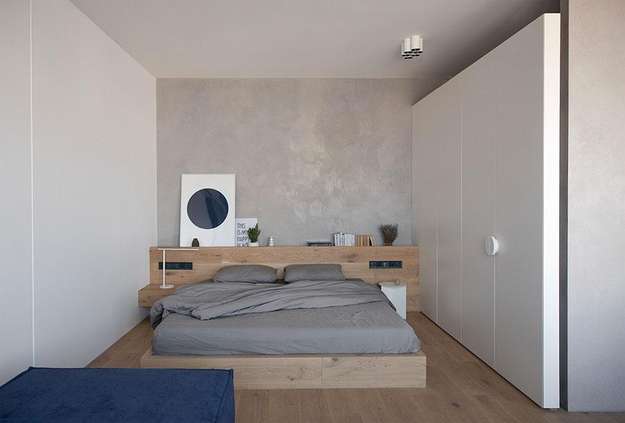 Idee per arredare una camera da letto di 9 mq n.08