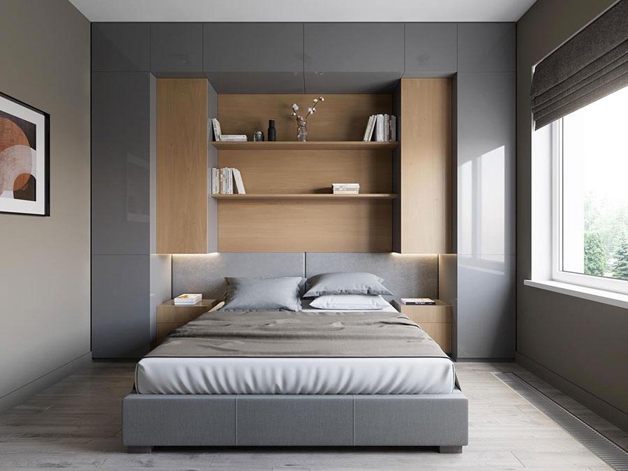 Idee per arredare una camera da letto di 9 mq n.09