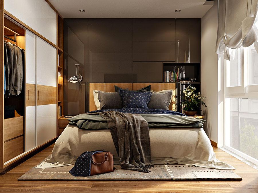 Idee per arredare una camera da letto di 9 mq n.10
