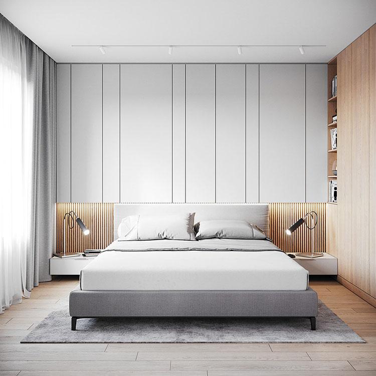 Idee per arredare una camera da letto di 9 mq n.12