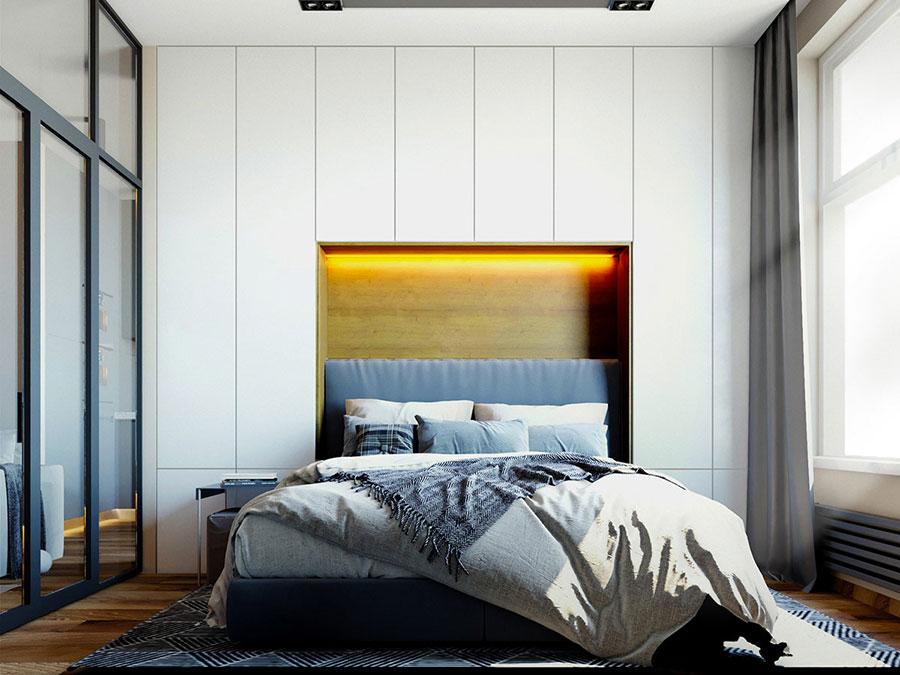 Idee per arredare una camera da letto di 9 mq n.13