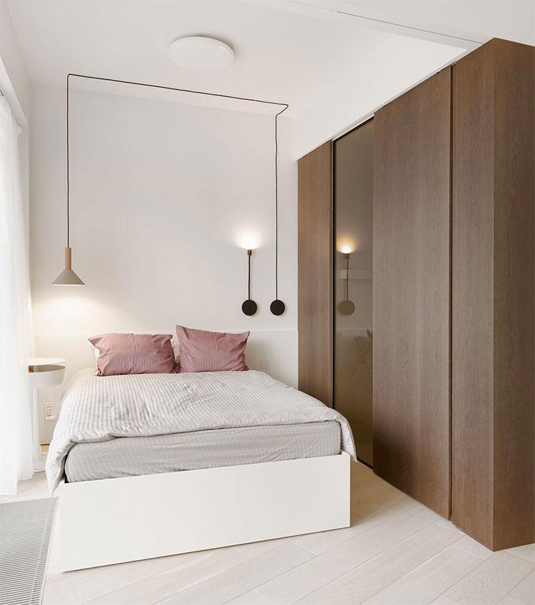 Idee per arredare una camera da letto di 9 mq n.14