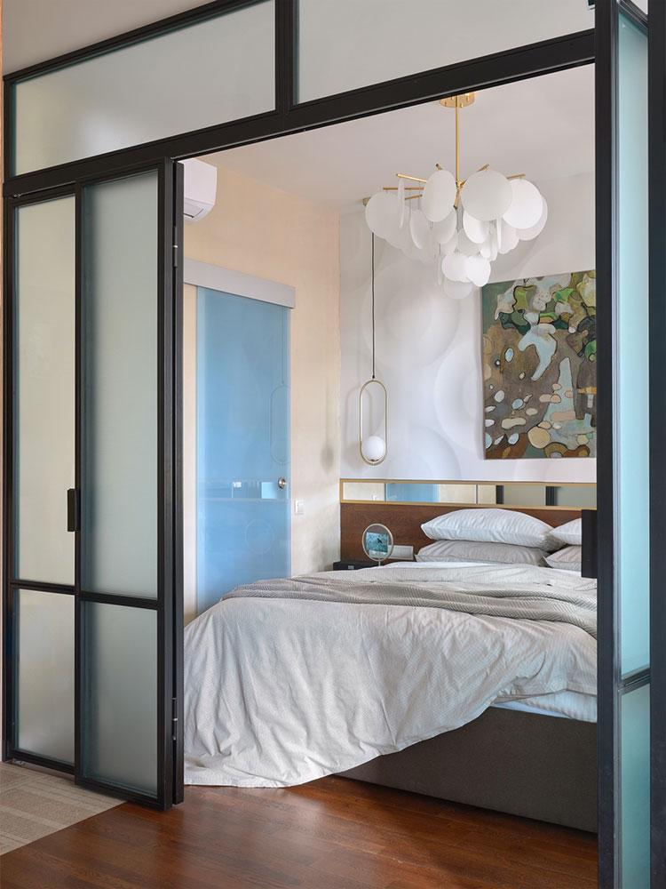 Idee per arredare una camera da letto di 9 mq n.17