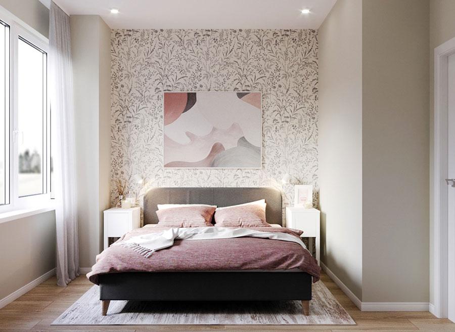 Idee per arredare una camera da letto di 9 mq n.19