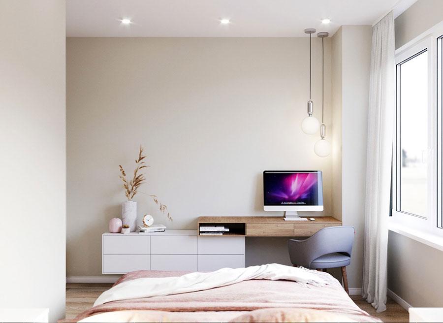 Idee per arredare una camera da letto di 9 mq n.20
