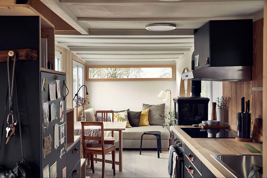 Idee di arredamento per tiny house Ikea n.01