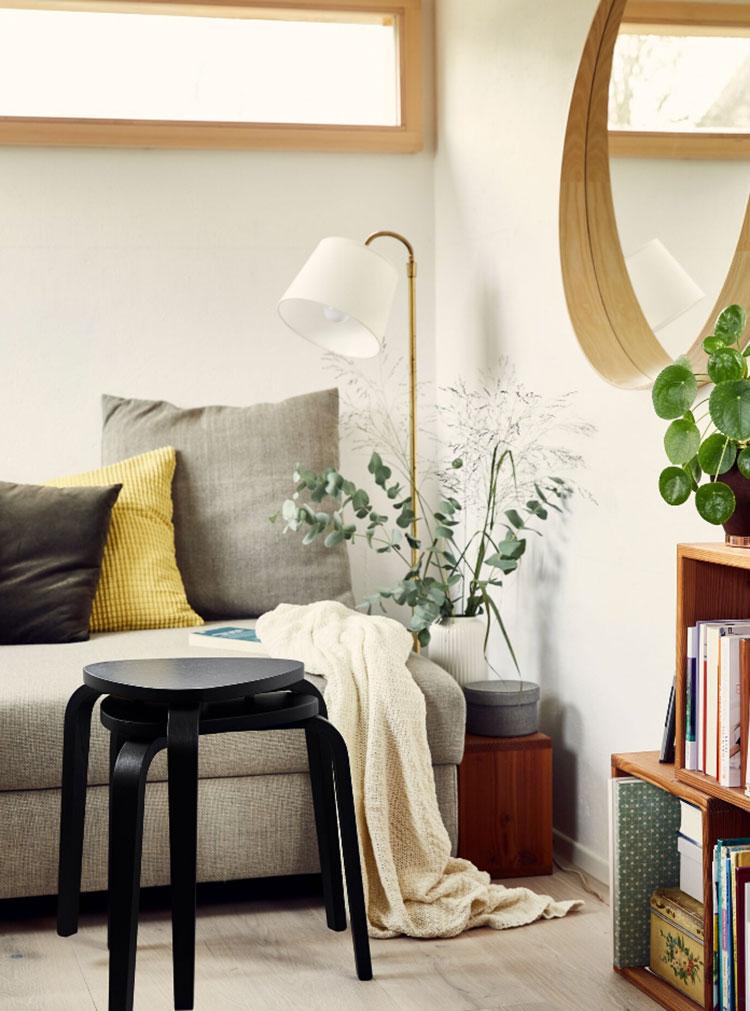 Idee di arredamento per tiny house Ikea n.03