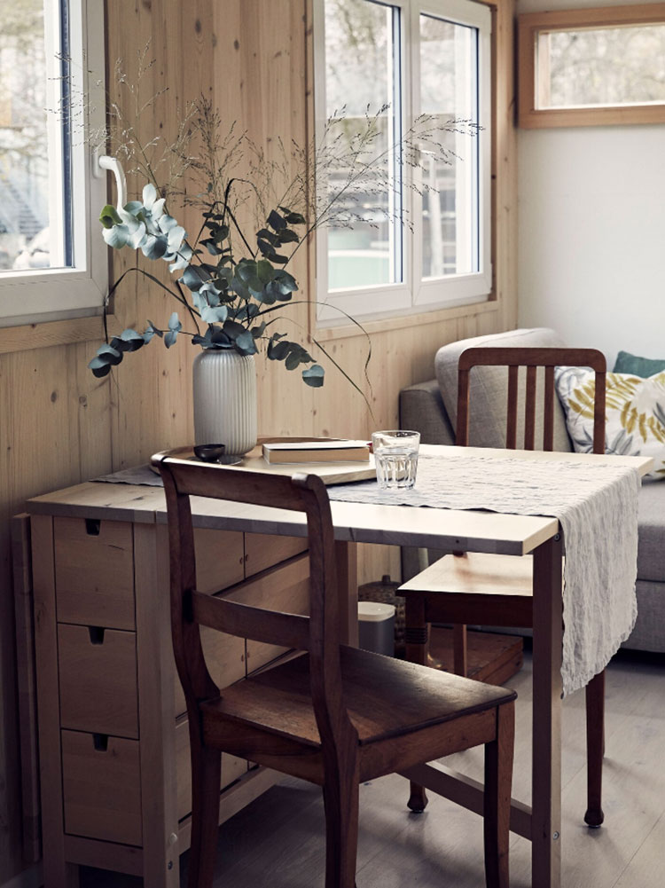 Idee di arredamento per tiny house Ikea n.04