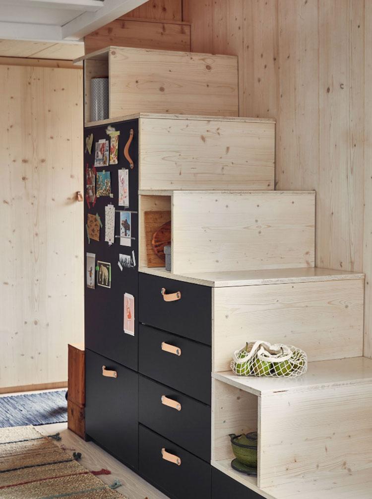 Idee di arredamento per tiny house Ikea n.05