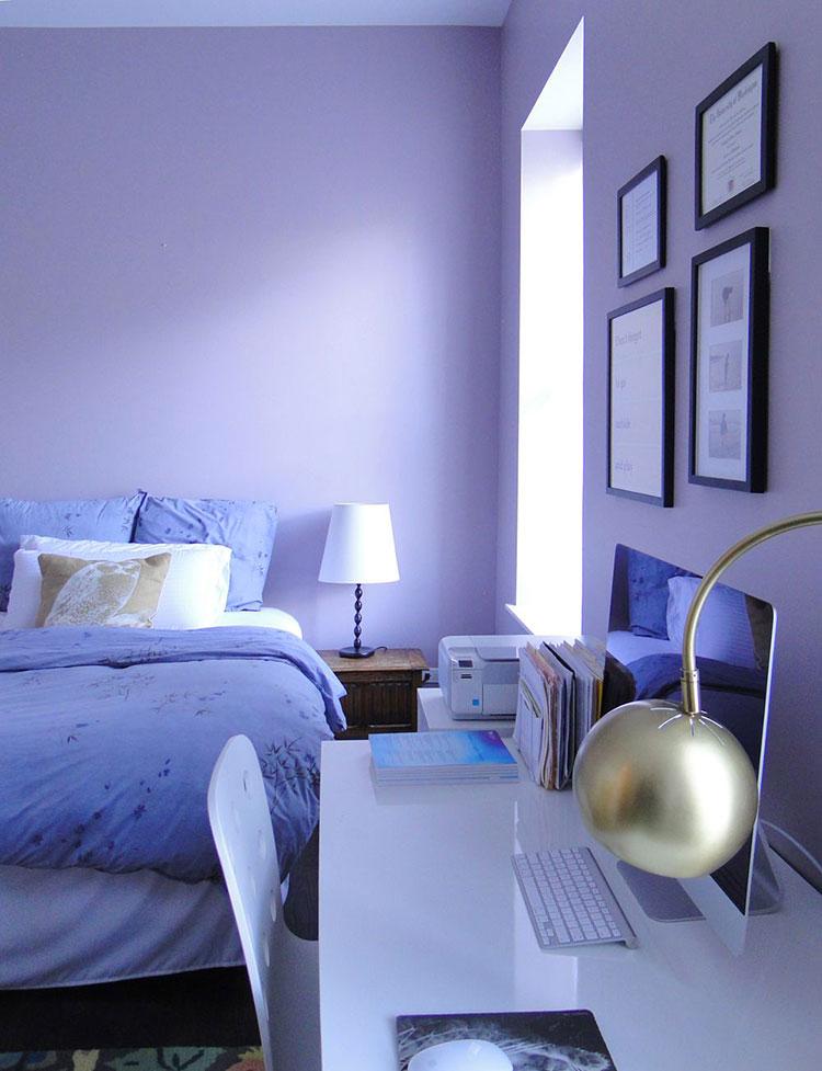 Camera da letto colore pervinca n.01