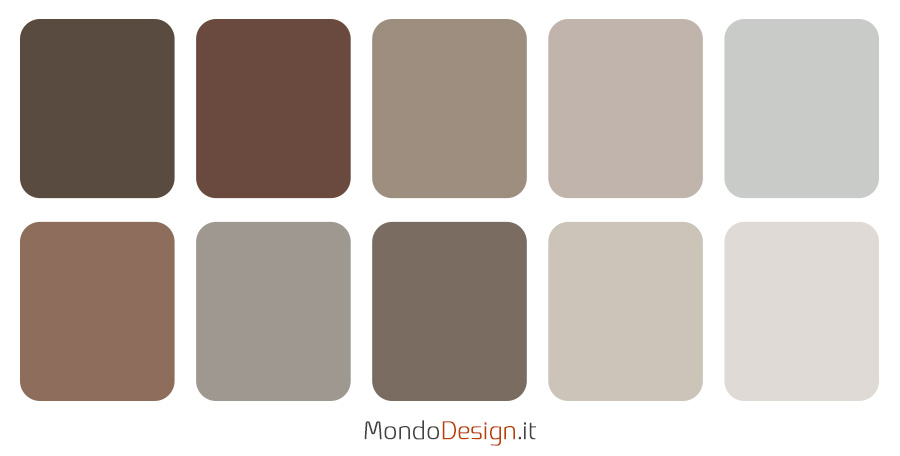 Idee palette colore brave ground Trust colours