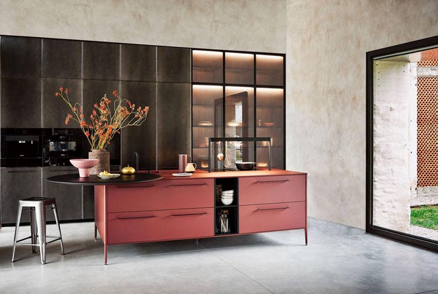 Modello di cucina di design Cesar n.01