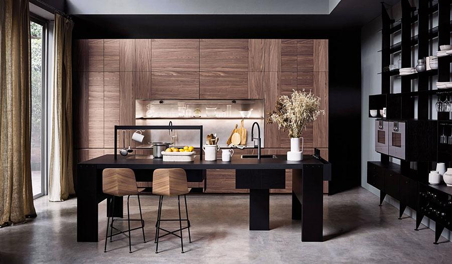 Modello di cucina di design Cesar n.02