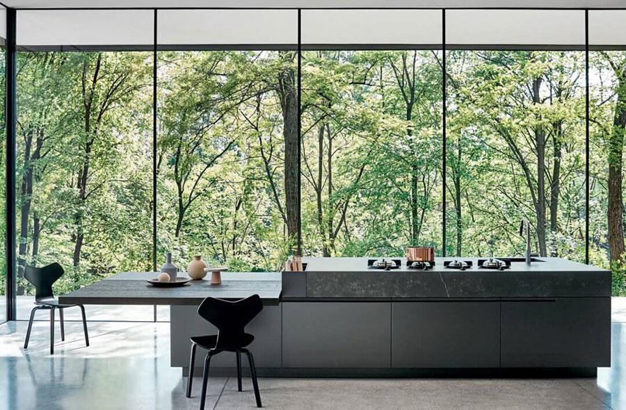 Modello di cucina di design Cesar n.03