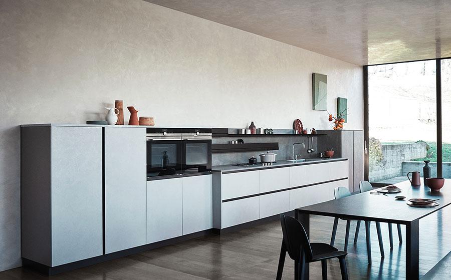 Modello di cucina di design Cesar n.05
