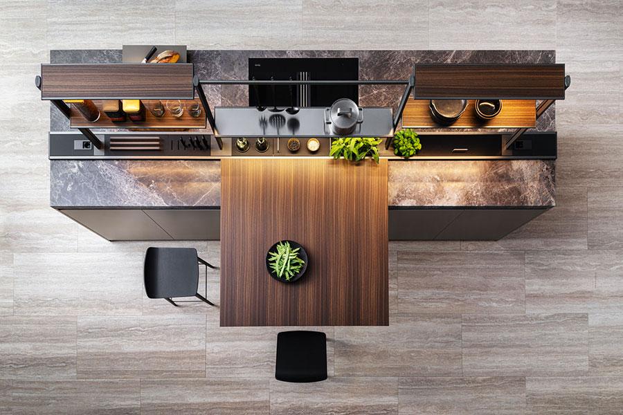 Modello di cucina di design Dada n.01
