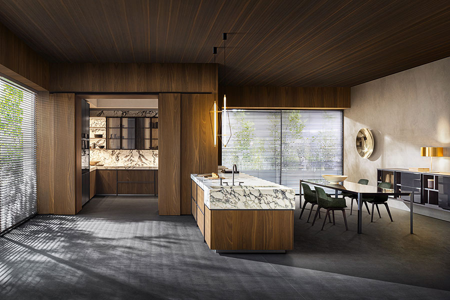 Modello di cucina di design Dada n.02