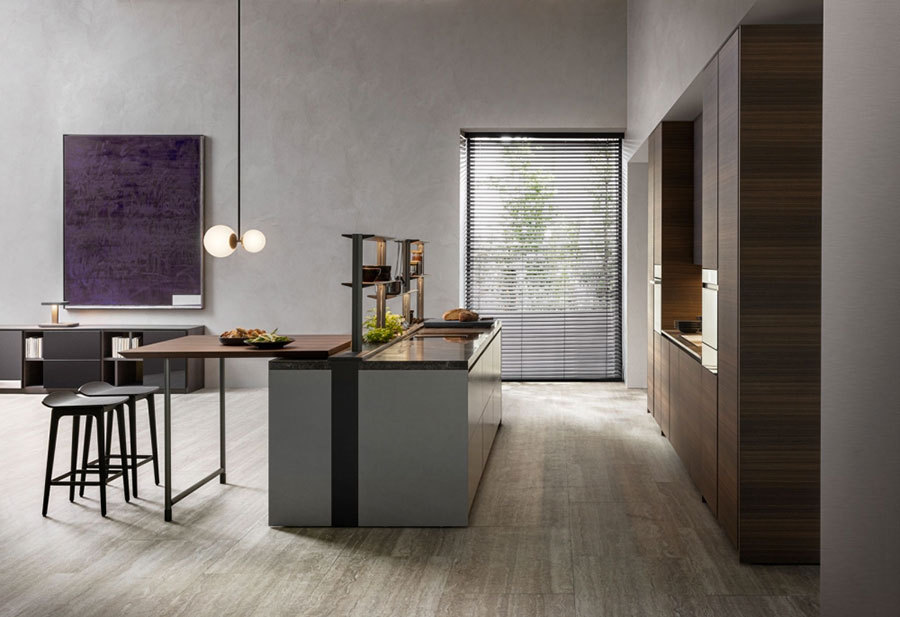 Modello di cucina di design Dada n.05