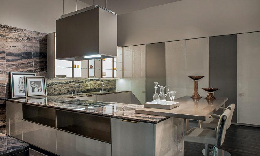 Modello di cucina di design Fendi n.02